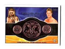 WWE Edge Chris Jericho 2015 Topps Tag Team Commemorative Belt Plate Relic Card D