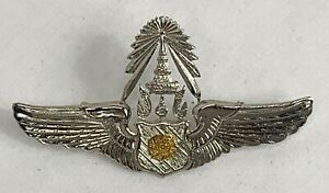 Thailand Air Force Pilot Wings