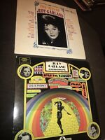 🔥Judy Garland Concert Over the Rainbow, The Hits Of 2 LP 1974 Vinyl TR 7-2145