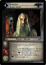 LoTR TCG TTT The Two Towers Saruman, Rabble-Rouser 4R33