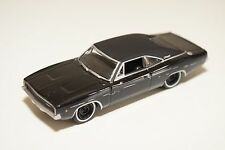 GREENLIGHT DODGE CHARGER 1968 BLACK EXCELLENT CONDITION