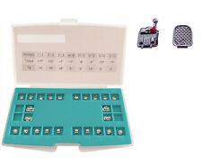 1Set Dental Orthodontic Self-Ligating Brackets Brace Metal Mini MBT 022 Hook 3