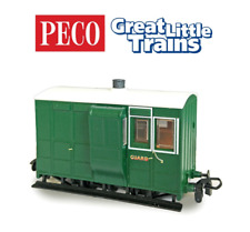 More details for peco gr-535 freelance 4-wheel brake coach with buffers oo-9 gauge