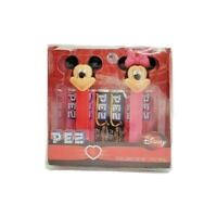 Disney Mickey Minnie Pez Dispensers 2009 Pink Red Base and Feet & Candy Sealed