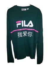 Fila Long Sleeved Tshirt