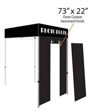 Impact Canopy 5x5 Photo Booth Door Roll Up Sidewall Doorway Only for Photo Booth