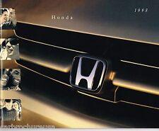 1998 HONDA Brochure/Catalog:CIVIC,ACCORD,PRELUDE,PASSPORT,CR-V,ODYSSEY,V-6,LX,SH