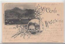 74537/54- Gruß aus Hallein im Tennengau im Bundesland Salzburg 1899