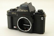 Canon New F-1 F1 AE Finder SLR Film Camera Black Body From Japan #1285749
