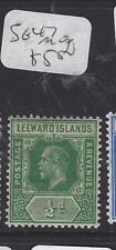LEEWARD ISLANDS (P1610B)  KGV  1/2 D  SG 47        MOG