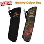 Portable Arrow Quiver Bow Holder Easy Carrier Bag Target Shooting Outdoor