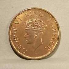 1940 BRITISH INDIA 1/4 Anna,  KM. 531, Uncirculated