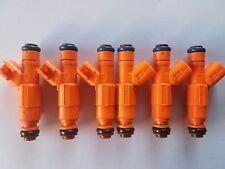 Bosch Upgrade 4 Holes Jeep Cherokee 1999+ 4.0L EV6 Fuel Injector Set 6 19LB