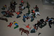 Figuren Wildwest-Spielzeug Indianer Sitting Bull Cowboys Alt !