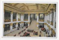 Lobby and Grand Staircase Jefferson Hotel Richmond VA Postcard