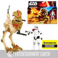 Star Wars The Force Awakens Desert Assault Walker with Figure - EE Exclusive