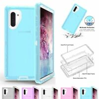 Clear Defender Case For Samsung Galaxy Note 10 /10 Plus Transparent Hybrid Cover