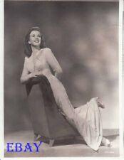 Deanna Durbin lays on armchair RARE Photo
