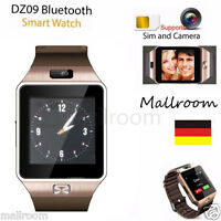 DZ09 SmartWatch Bluetooth Smart uhr GSM SMI Armband für Android iOS SIM Kamera A