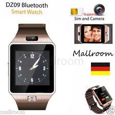 Smart Watch Bluetooth Smart uhr GSM SMI Armband für Android iOS SIM Kamera DZ09