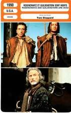 FICHE CINEMA : ROSENCRANTZ ET GUILDENSTERN SONT MORTS - Oldman,Roth,Stoppard1990