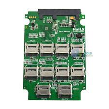 "10x Micro SD SDHC TF Flash Memory Card + SD Card SATA SSD Adapter 2.5"" SATA"