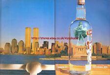 "Smirnoff Vodka ""Statue Liberty"" 1993 Magazine Advert #3075"