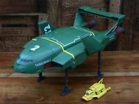 Thunderbirds Are Go Supersize Thunderbird 2 and 4 with Seats (C)