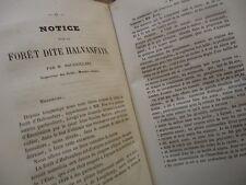 LORRAINE ANNALES SOC EMUL VOSGES 1858 FERME NEUFCHATEAU HALVANFAYS BEAUFREMONT