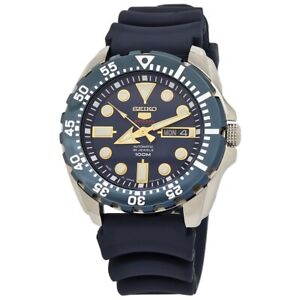 Seiko 5 Sports Automatic 24 Jewels Blue Dial Men's Watch SRP605J2