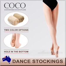 FOOTED SHIMMER TIGHTS TIGHT DANCE STOCKINGS BALLET JAZZ TAP SIZE CHILD TO ADULT
