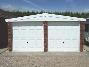 APEX ROYALE DOUBLE CONCRETE GARAGE - OUR BEST SELLING GARAGE