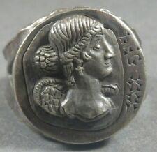 Ancient Roman Military Legionary Silver Ring Legion XXX Victrix - circa 100 AD