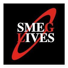 Red Dwarf TV Series Show Return 2016 Square Sticker Decal, SMEG LIVES