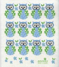 Dish Cloth, Blue Owl - Swedish Design