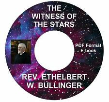 Witness of the Stars-E.W. Bullinger-CD Ebook PDF-Kindle-iPhone-Droid Compatible