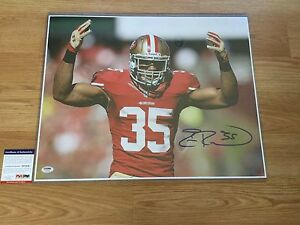 Eric Reid Signed SF San Francisco 49ers 16x20 Photo PSA DNA COA Autographed a