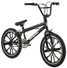 BMX Boy/Girls Bike 20 inch Black freestyle pegs single-speed Linear Pull Brakes