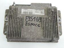 Renault Espace III Chaque 2.0 Unité de Commande Moteur Hom 7700868188 Msg F95169