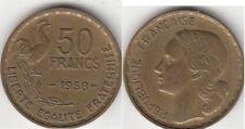 Monnaie contemporaine Française 50 francs Guiraud 1958