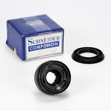 Schneider-Kreuznach Componon 80mm F5.6 Enlarging Lens w/ 39mm Step Up Ring Boxed