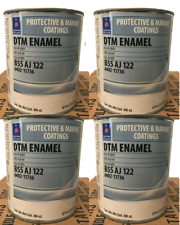 New listing Sherwin Williams Protective / Marine Coatings Dtm Enamel 49 Gray (Case Of 4 Qt)