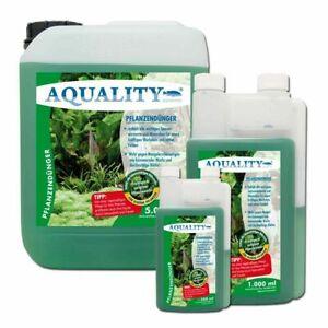 (19,98€/l) AQUALITY Pflanzendünger Aquariumdünger für sattgrüne Pflanzen