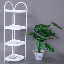 Corner Basket Shelf Rack Storage Shower Caddy 4 Tier Shelves Bathroom Organizer