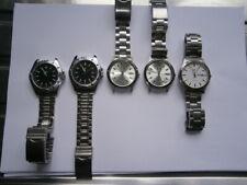Job lot of gents SEKONDA watches quartz watches working bracelets broken