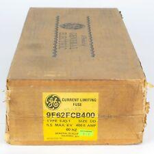 GENERAL ELECTRIC 9F62-FCB400 NSNB - FUSE 400 AMPS 5.5 VOLTS, New!