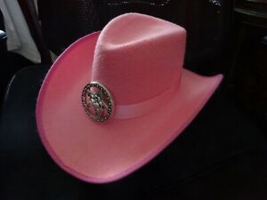 Kids Pink Cowgirl Hat in excellent condition 7