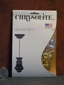 Dollhouse Miniature Chrysolite Hanging Lamp Kit 1:12 scale Y40 Dollys Gallery