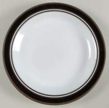 Hornsea Pottery CONTRAST DINNER PLATE 25 cms Lancaster Vintage Brown CIRCA 1977
