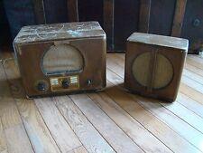 Vtg 1937 ? General Electric GE Tube Type  FM-41 Handy Phone FS-5 Speaker